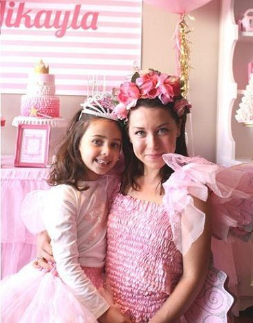 cumpleanos princesas rosa disfraz