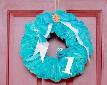 fiesta monstruo galletas puerta