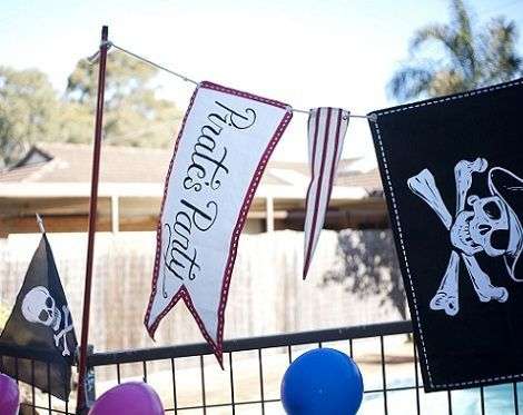 fiesta pirata jardin
