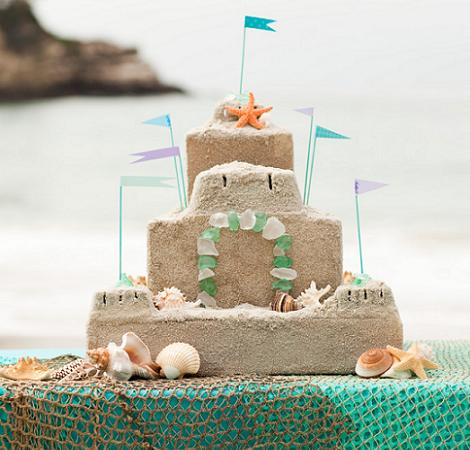 fiesta playa tarta
