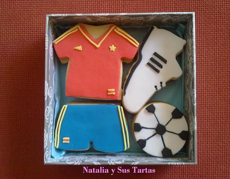 Galleta de fútbol España