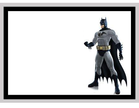Resultado de imagen para modelos de invitaciones de batman