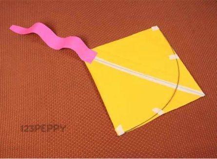 C mo hacer una cometa - Como hacer cadenetas de papel para fiestas ...