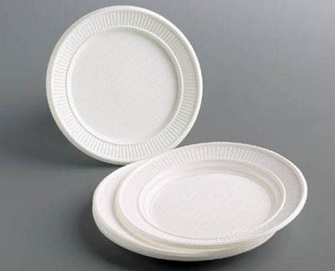 manualidades platos plastico