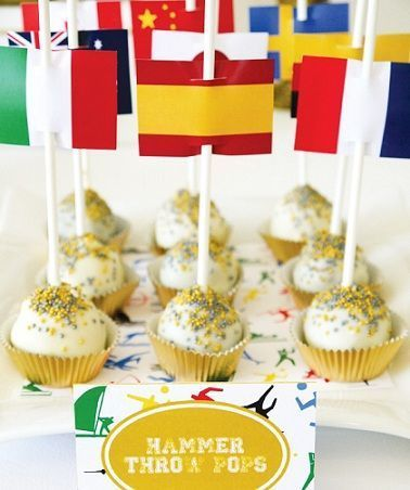 olimpiadas 2012 cake