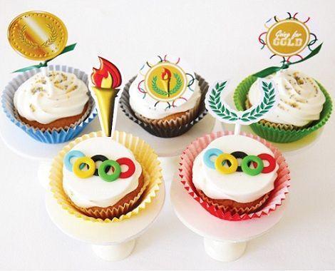 olimpiadas 2012 cupcake