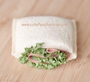 sandwich para ninos rellenar