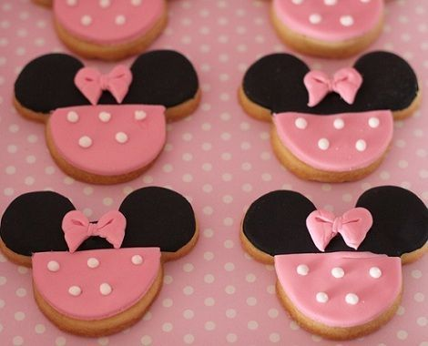 segundo cumpleanos minnie mouse cookies