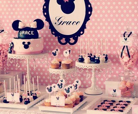 segundo cumpleanos minnie mouse dulces