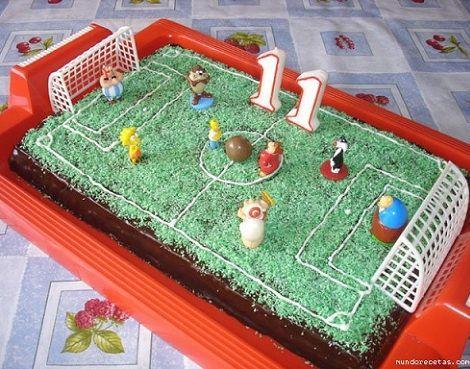 tarta futbol galletas abuela