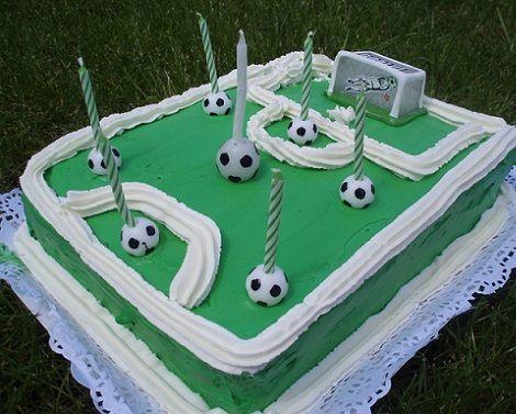 tarta futbol nata