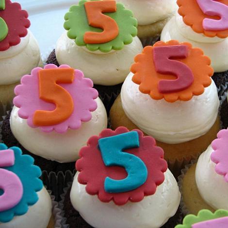 Cupcake 5 años