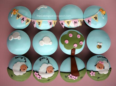 Cupcakes de cumple