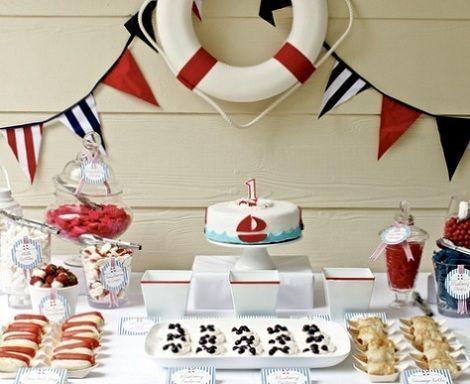 fiesta marinera mesa