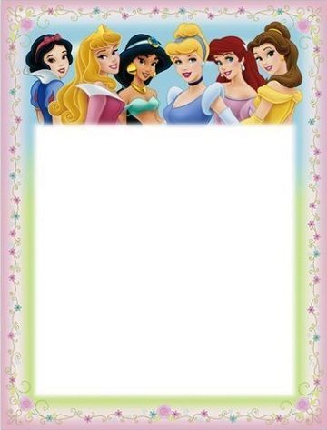 invitaciones cumpleanos infantil princesas