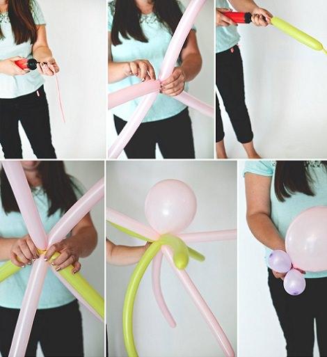globo con forma de pulpo