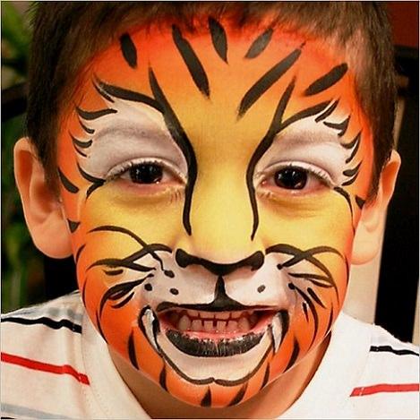 pintacaras de tigre