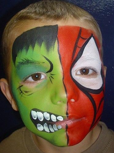 cara pintada de tigre