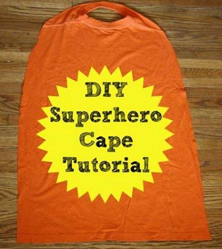 Cómo hacer una capa de superhéroe para tu disfraz con una camiseta