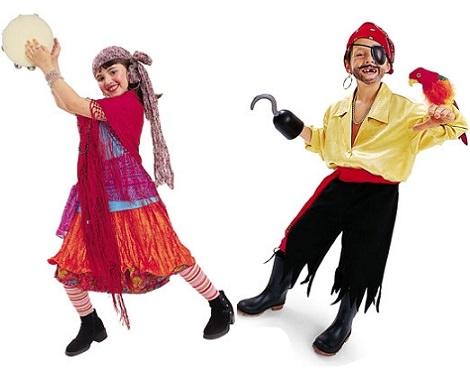 10 Disfraces caseros infantiles para el Carnaval 2014 pirata