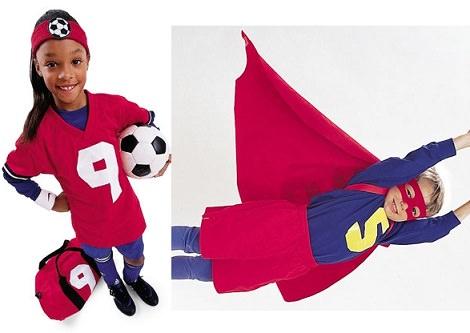 10 Disfraces caseros infantiles para el Carnaval 2014 futbolista