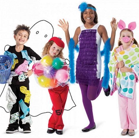 Disfraces caseros fáciles para hacer con niños este Carnaval 2014