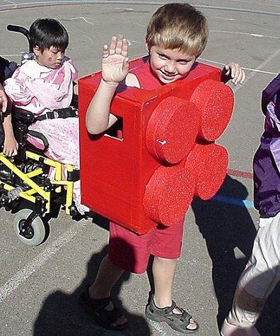 5 Disfraces hechos a mano para niños carnaval 2014