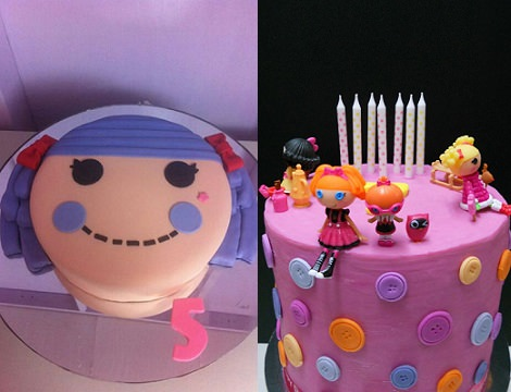 tarta de cumpleaños lalaloopsy