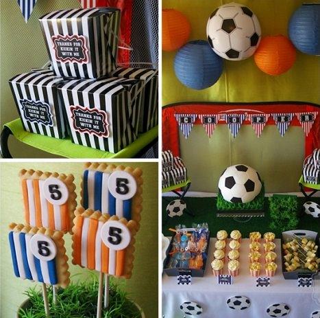 Ideas para la decoraci n de una fiesta de cumplea os de - Fiesta cumpleanos 8 anos ...