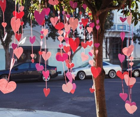 decoracion de san valentin