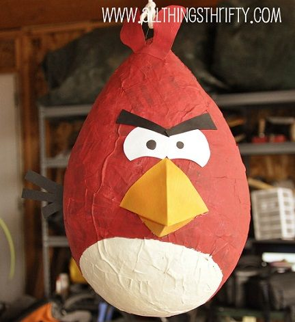 ideas de decoración con los angry birds