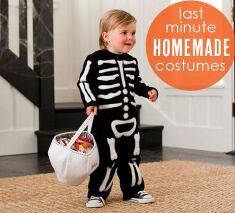 disfraces de esqueleto para niños