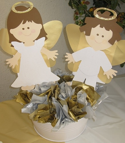 angelitos decorados comunión