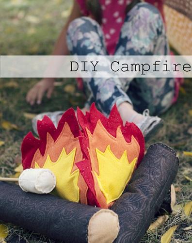 ideas para hacer un camping con los niños en el jardín