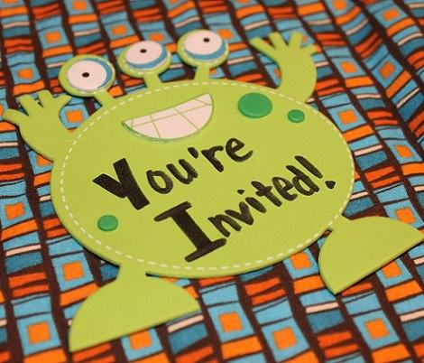 invitaciones caseras faciles cumpleaños