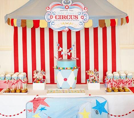 Organiza un cumplea os infantil en el circo - Fiesta cumpleanos infantil en casa ...