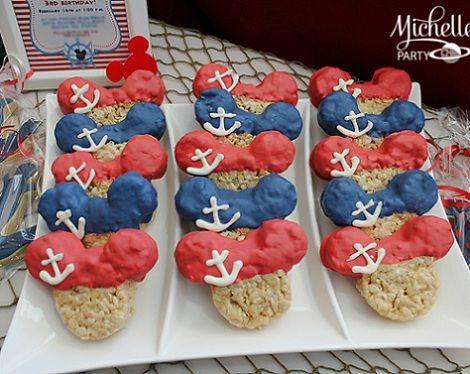 cumpleanos de mickey mouse marinero