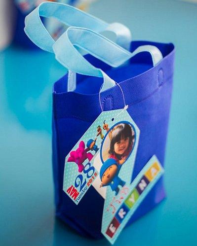bolsas de cumpleaños de Pocoyó