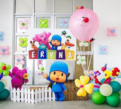 C mo organizar un cumplea os casero de pocoy - Ideas para fiestas de cumpleanos infantiles en casa ...