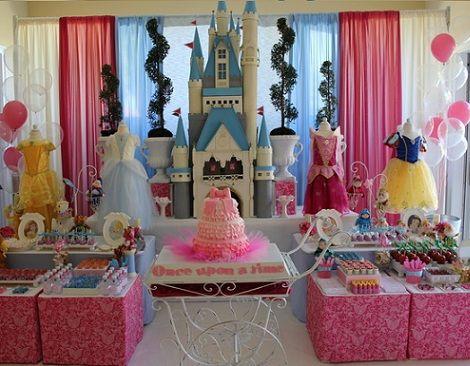 Cumplea os de princesas disney - Fiestas infantiles princesas disney ...