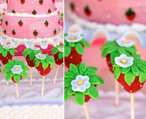tarta de cumpleaños de tarta de fresa