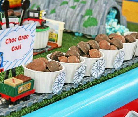 tren de chocolate para una fiesta de thomas el tren y sus amigos