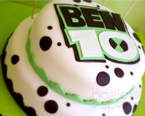 tarta decorada de ben 10