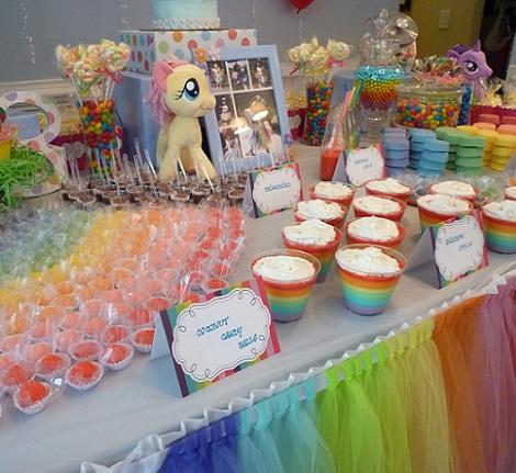 iesta de cumpleaños my little pony