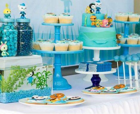 fiesta de cumpleaños de los octonautas