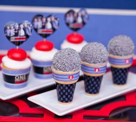 galletas de cumpleaños de One Direction