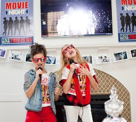 karaoke de cumpleaños de One Direction