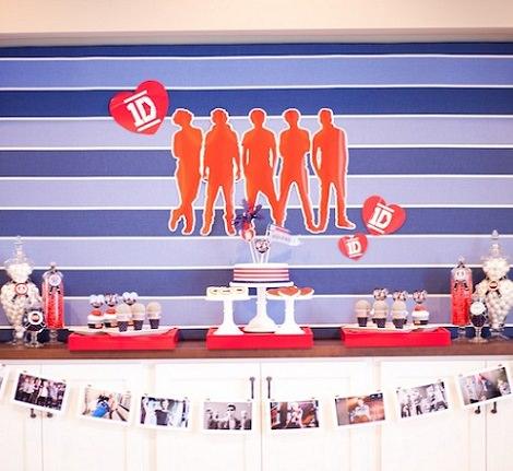 fiesta de cumpleaños de One Direction