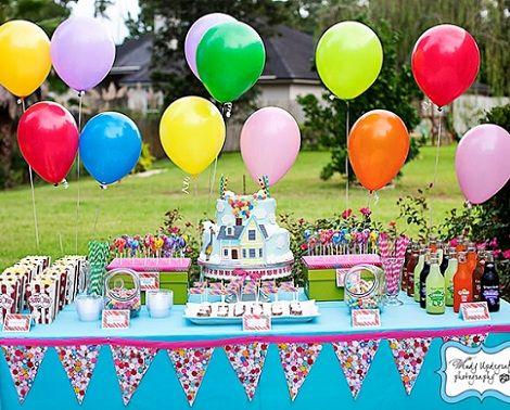 fiesta de cumpleaños de up
