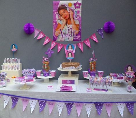 Ideas caseras para decorar una fiesta de violetta - Ideas decoracion fiestas ...